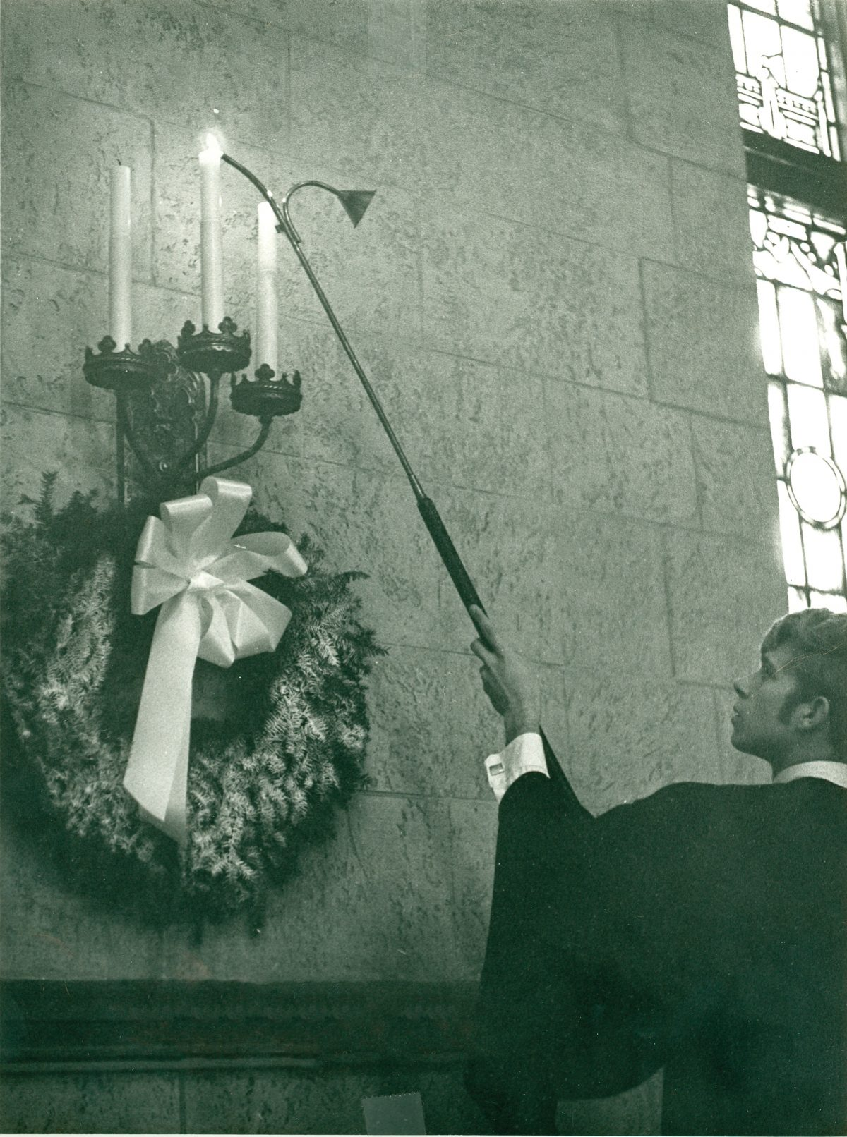 Window to Hope's History: Christmas Vespers