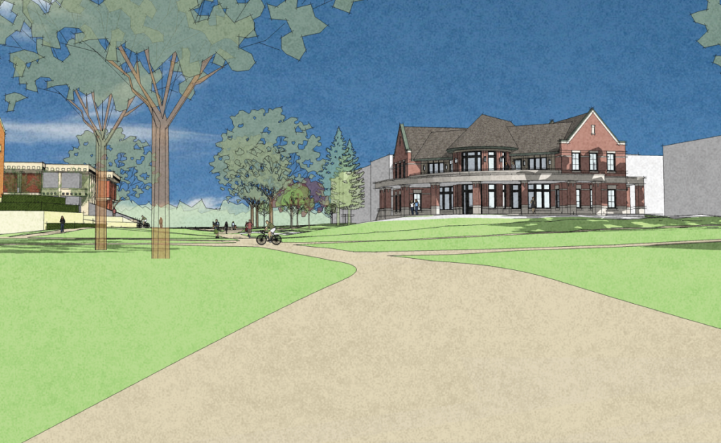 A new Campus Ministries house will be constructed in a central campus location and ready to open in the fall of 2019.