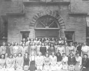 West Hall Female Residents, 1947