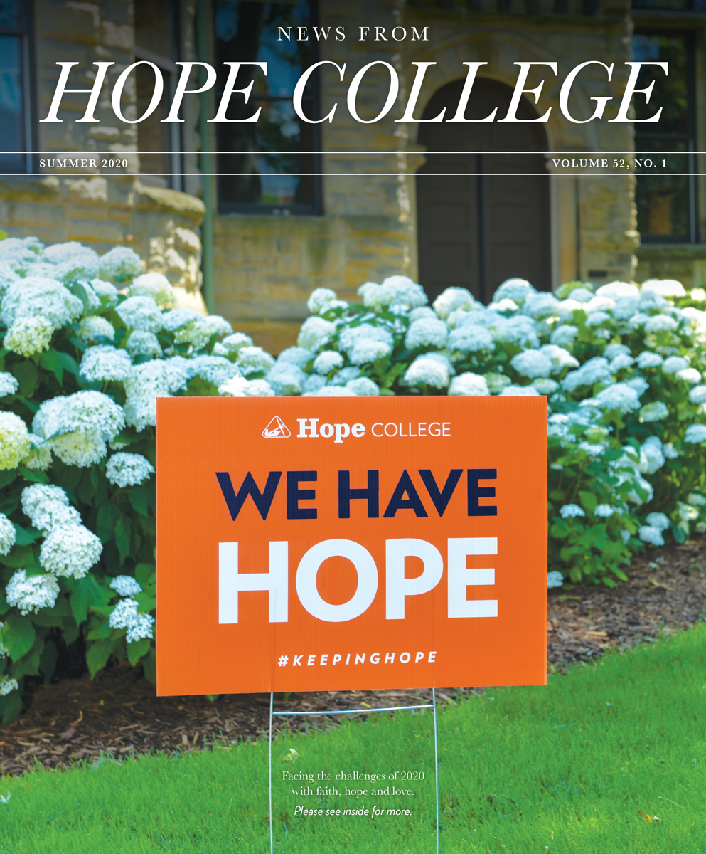 News from Hope College Summer 2020 issue cover