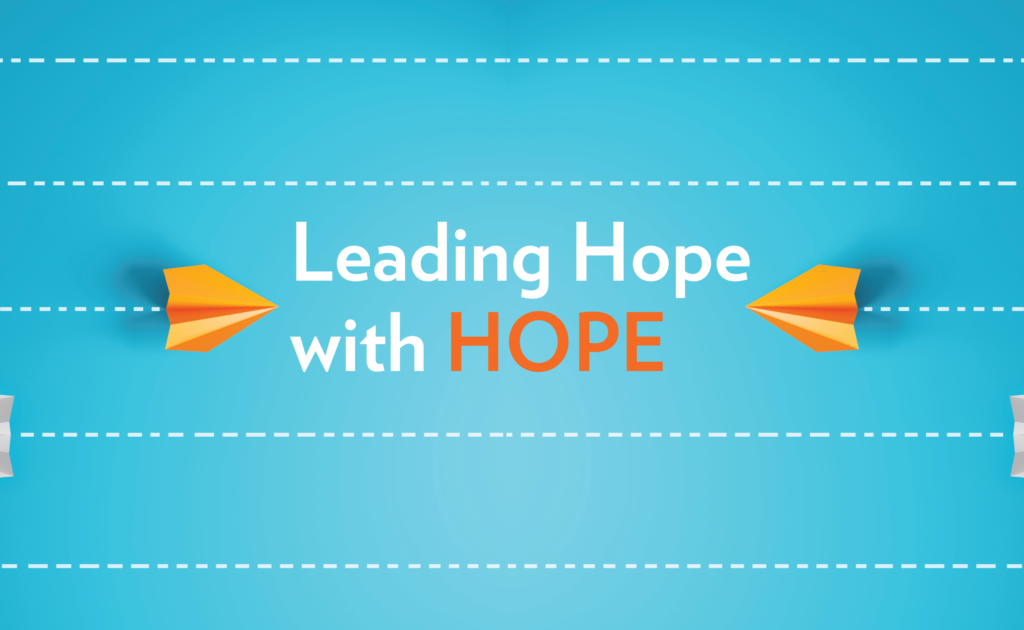 Leading Hope with Hope [title graphic]