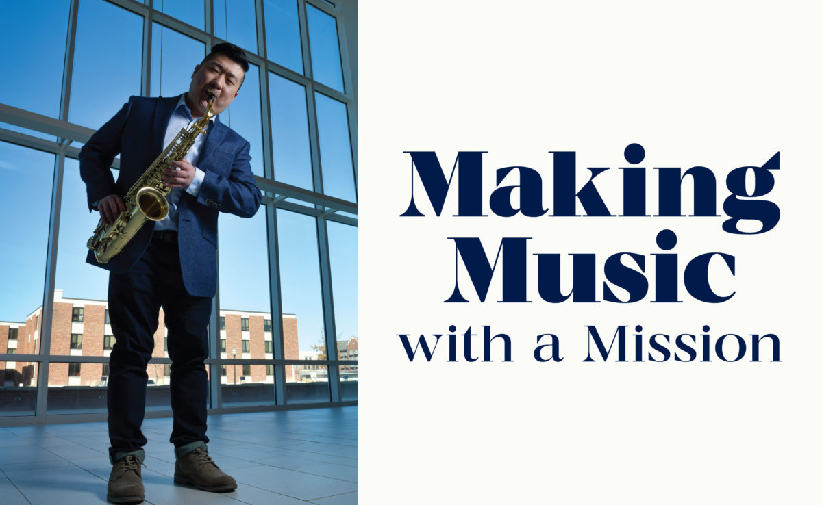 Making Music with a Mission